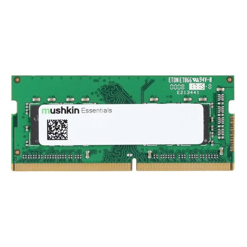Mushkin Essentials módulo de memória 8 GB 1 x 8 GB DDR4 3200 MHz