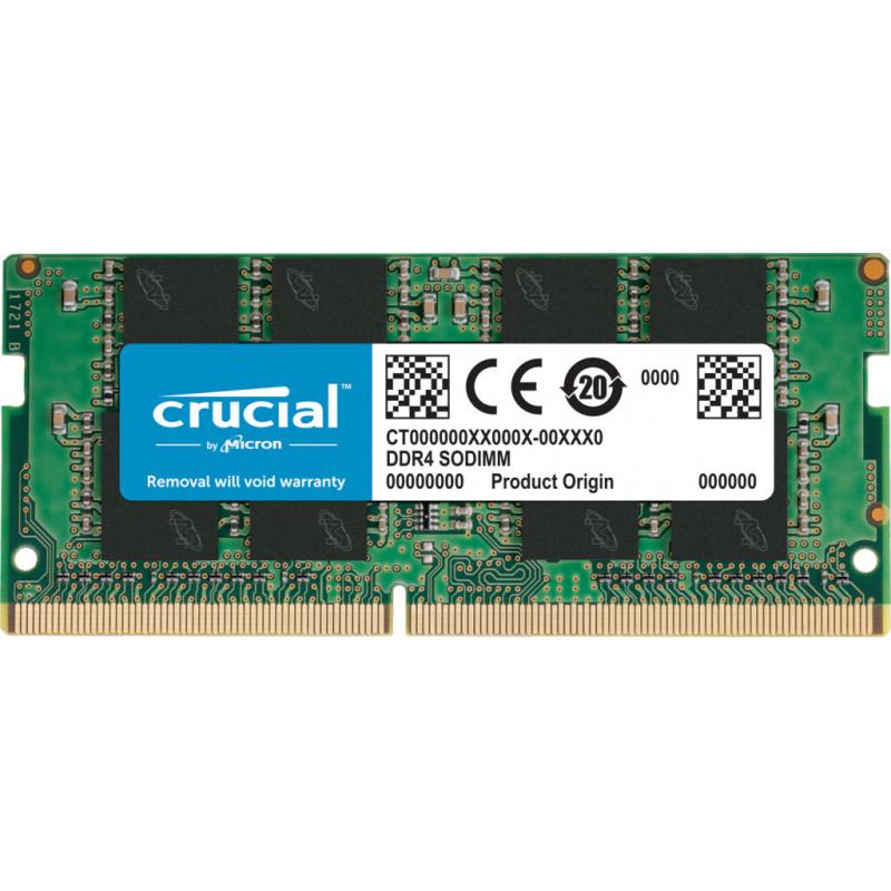 Crucial CT16G4SFRA266 módulo de memória 16 GB 1 x 16 GB DDR4 2666 MHz