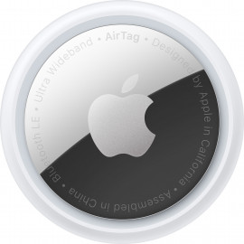 Apple AirTag Bluetooth Prateado, Branco