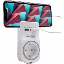Ewent EW1225 carregador de dispositivos móveis Branco Interior