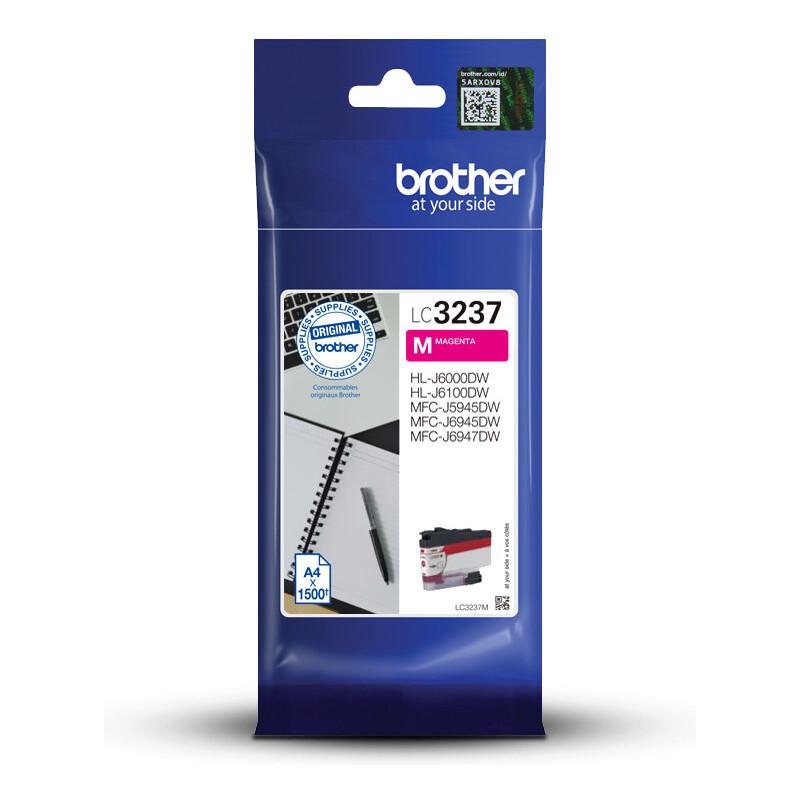 Brother LC-3237M tinteiro 1 unidade(s) Original Rendimento padrão Magenta
