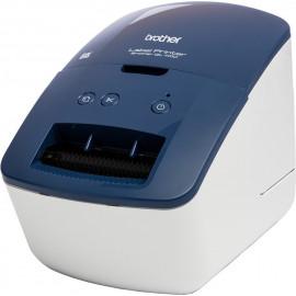 Brother QL-600B impressora de etiquetas Acionamento térmico direto 300 x 600 DPI Com fios DK