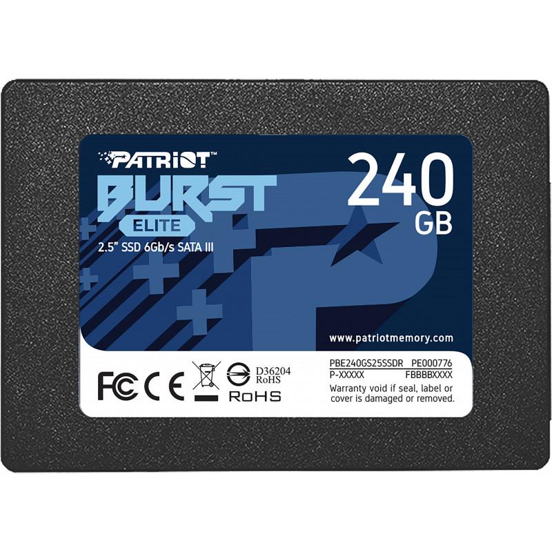 "Patriot Memory Burst Elite 2.5"" 240 GB Serial ATA III"