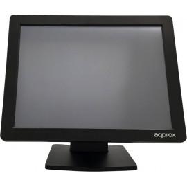"Approx appMT15W4 38,1 cm (15"") 1024 x 768 pixels Ecrã táctil Preto"