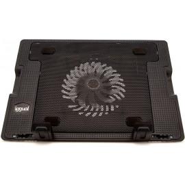"""iggual RP1V17 43,2 cm (17"""") Suporte para computador portátil Preto"""