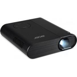 Acer C200 datashow Projetor portátil 200 ANSI lumens DLP WVGA (854x480) Preto