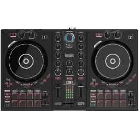 Hercules DJControl Inpulse 300 Scratcher Digital Vinyl System (DVS) Preto