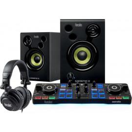 Hercules DJStarter Kit Preto