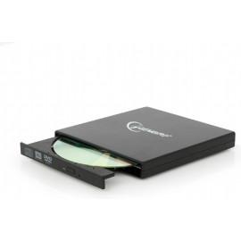 Gembird DVD-USB-02 unidade de disco ótico DVD±RW Preto