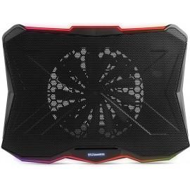 """NOX PRO base de refrigeração para computador 43,9 cm (17.3"""") 800 RPM Preto"""