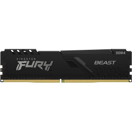 Kingston Technology FURY Beast módulo de memória 16 GB 1 x 16 GB DDR4 2666 MHz