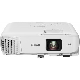 Epson EB-E20 datashow Projetor de distância normal 3400 ANSI lumens 3LCD XGA (1024x768) Branco