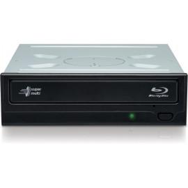 Hitachi-LG Super Multi Blu-ray Writer unidade de disco ótico Interno Blu-Ray RW Preto