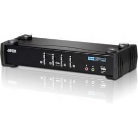 Aten Switch USB DVI Audio KVMP™ de 4 portas