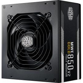 Cooler Master MWE Gold 850 - V2 Full Modular fonte de alimentação 850 W 24-pin ATX ATX Preto