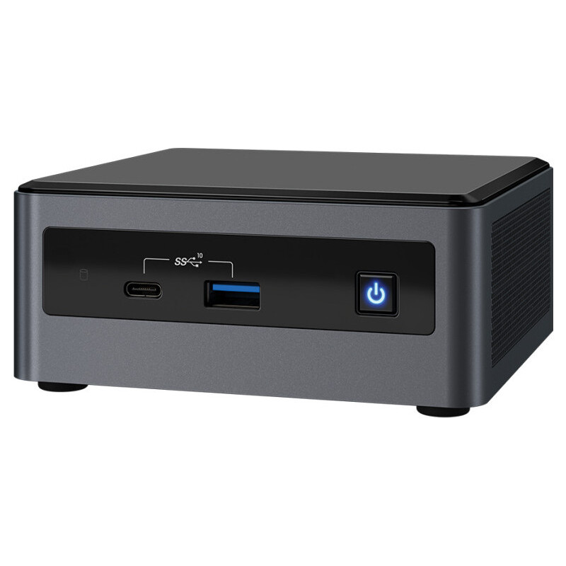 Intel NUC NUC10i7FNHN UCFF Preto i7-10710U 1,1 GHz