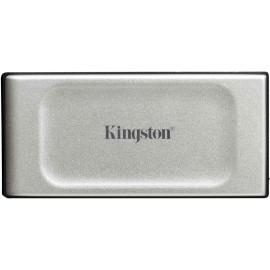 Kingston Technology XS2000 500 GB Preto, Prateado