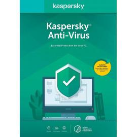 Kaspersky Lab Anti-Virus Multiligue Licença base 1 licença(s) 2 ano(s)