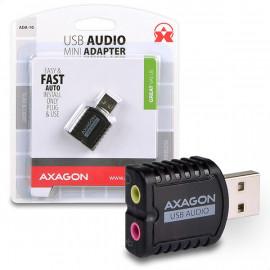 Axagon ADA-10 placa de som USB