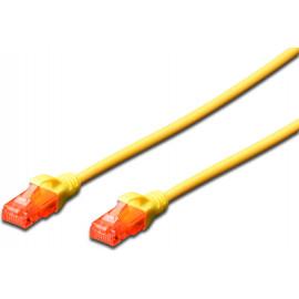 Ewent EW-6U-030 cabo de rede Amarelo 3 m Cat6 U UTP (UTP)