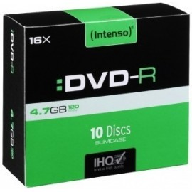 Intenso DVD-R 4.7GB 10Un....