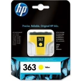 HP Tinteiro 363 Amarelo...
