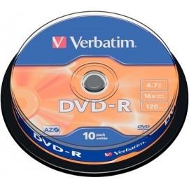 Verbatim DVD-R 4,7GB 10 Un....