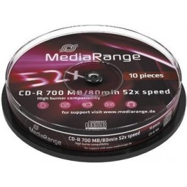 Media Range Pack 10 CD-R...