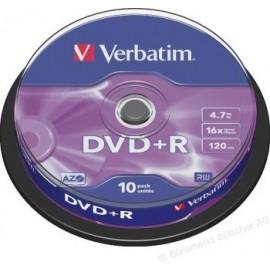 Verbatim DVD+R Pack 10...