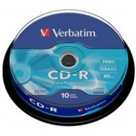 Verbatim Pack 10un CD-R...