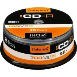 Intenso Pack CD-R 25 UN...