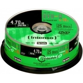 Intenso Pack DVD+R 25 UN