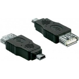 Goobay Mini USB Adapter Preto