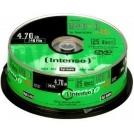 Intenso Pack DVD-R 25 UN