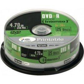 Intenso Pack DVD-R 25 UN...
