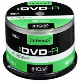Intenso Pack DVD-R 50 UN