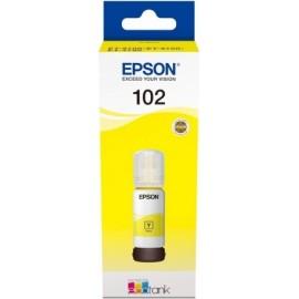 Epson 102 Original Amarelo...