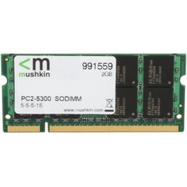 Mushkin So-Dimm 2GB DDR2...