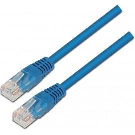 AISENS A133-0190 cabo de rede 0,5 m Cat5e U UTP (UTP) Azul