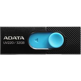 ADATA UV220 unidade de memória USB 32 GB USB Tipo A 2.0 Preto, Azul