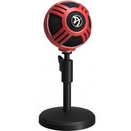 Arozzi Sfera Table microphone Preto, Vermelho