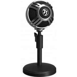 Arozzi Sfera Table microphone Preto, Cromo