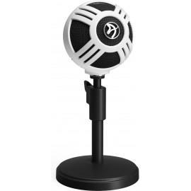 Arozzi Sfera Table microphone Preto, Branco